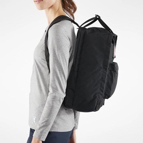 FJALLRAVEN Kanken 17 Backpack Black