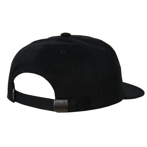 SANTA CRUZ Screaming Mono Dad Hat Black