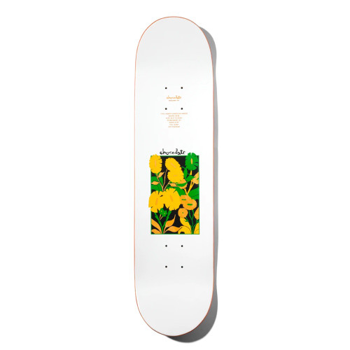 CHOCOLATE Yonnie Plantasia WR40 Skateboard Deck 8.1875