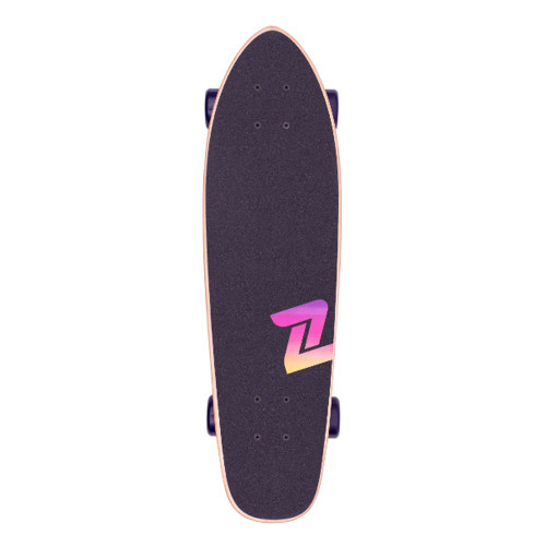 Z-FLEX POP Purple Fade Complete Cruiser 27