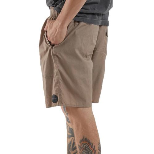 AFENDS Baywatch Classics Elastic Shorts Sand
