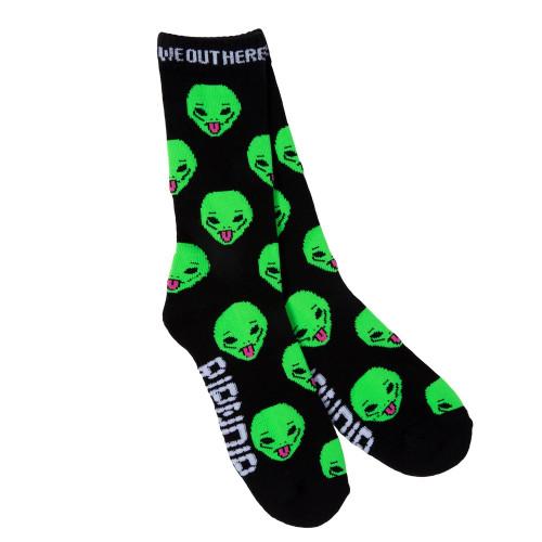 RIPNDIP We Out Here Socks Black
