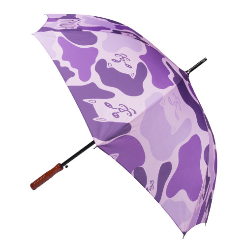 RIPNDIP Purple Camo Umbrella Purple Camo