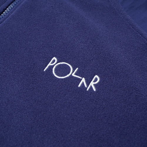 POLAR Lightweight Fleece Pullover Navy