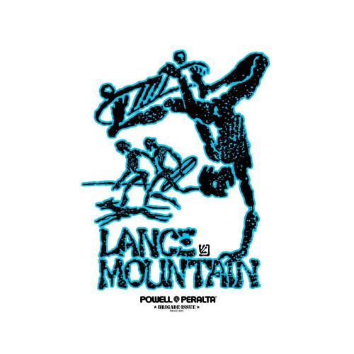 POWELL PERALTA Lance Mountain Sticker 12cm
