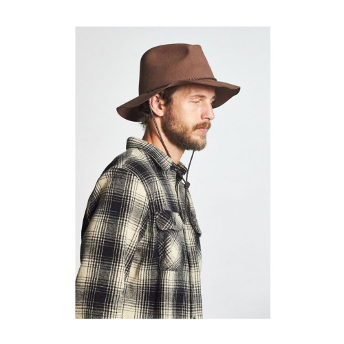 BRIXTON Freeport Fedora Hat Bison