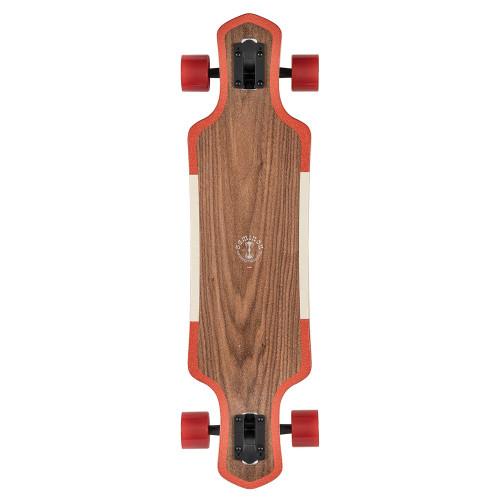 GLOBE Geminon Complete Longboard Walnut/Cockatoo 35