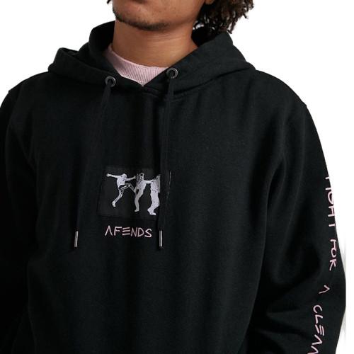 AFENDS Get Better Hemp PO Hood Black