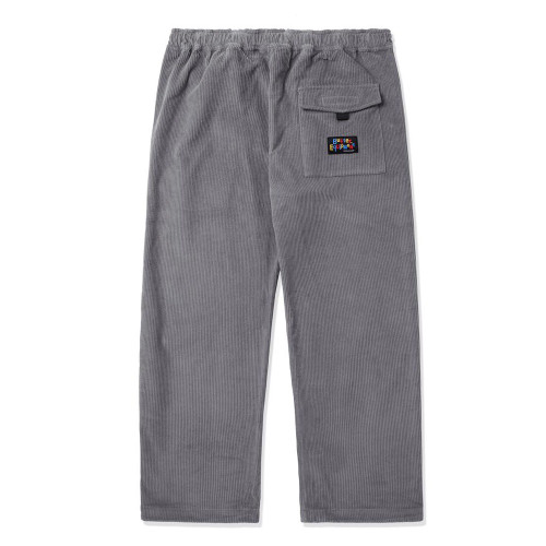 BUTTER GOODS High Wale Cord Pants Grey