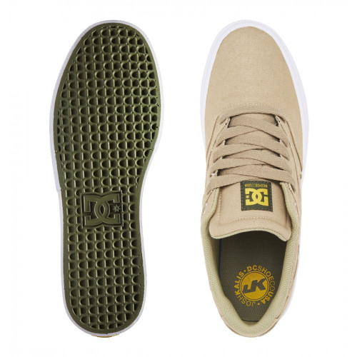 DC Kalis Vulc Shoes Tan