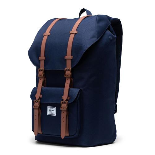 HERSCHEL Little America Backpack Peacoat/Saddle Brown