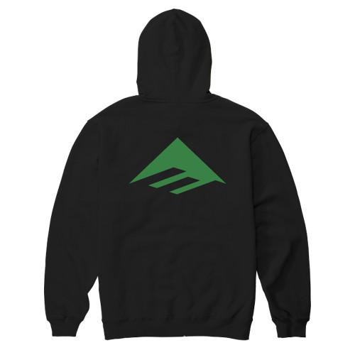 EMERICA Pure Triangle Hoodie Black