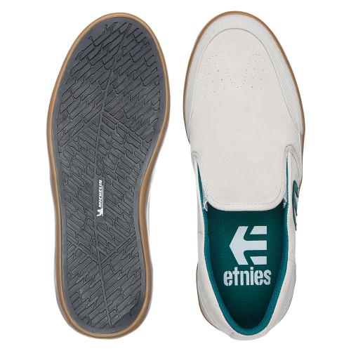 ETNIES Marana Slip XLT Shoes White/Green/Gum