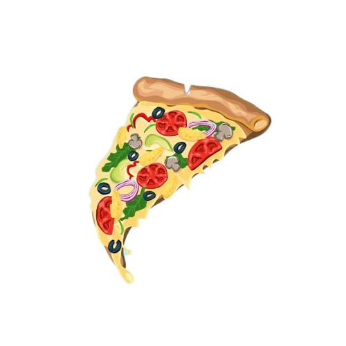 PRO & HOP Pizza Slice Air Freshener Pineapple
