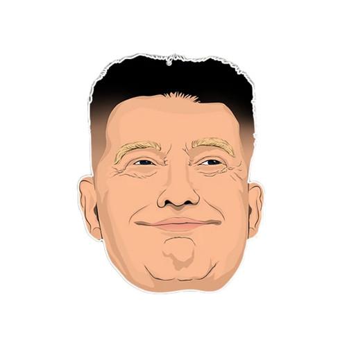 PRO & HOP Trump Jong Un Air Freshener Grape