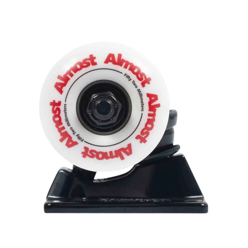TENSOR Almost Truck And Wheel Combo Black 5.25