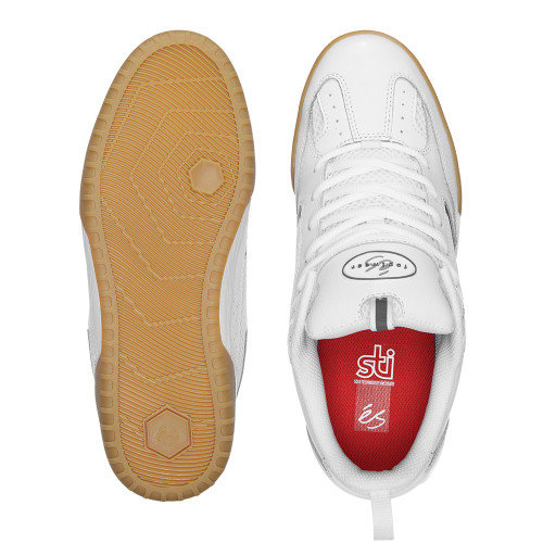 ES Quattro Shoes White/Gum