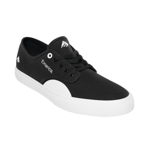 EMERICA Wino Standard Shoes Black/White/Gum