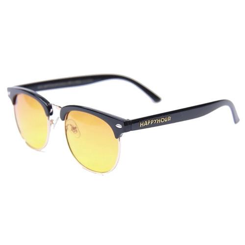 HAPPY HOUR G2 Black Gloss Orange Fade Sunglasses