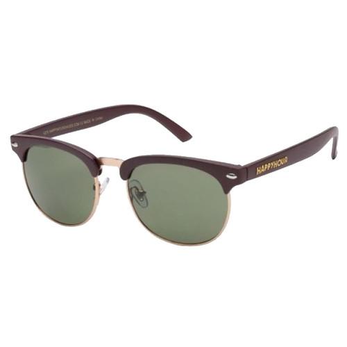 HAPPY HOUR G2 Matte Burgundy Sunglasses