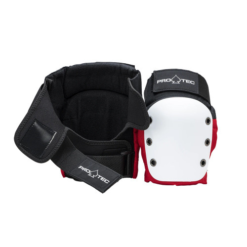 PRO TEC Street Knee Pads Red/White/Black