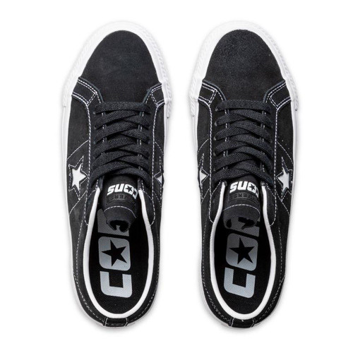 CONVERSE One Star Pro Ox Shoes Black/White/White