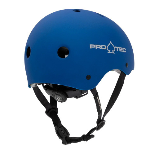 PRO TEC Classic Certified Helmet JR Metallic Blue