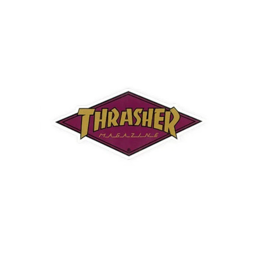 THRASHER Diamond Logo Sticker Small 10cm