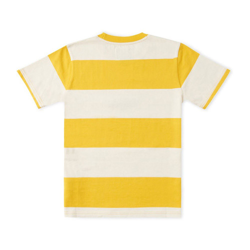 DC Uptown Stripe Youth Tee Golden Rod Stripe