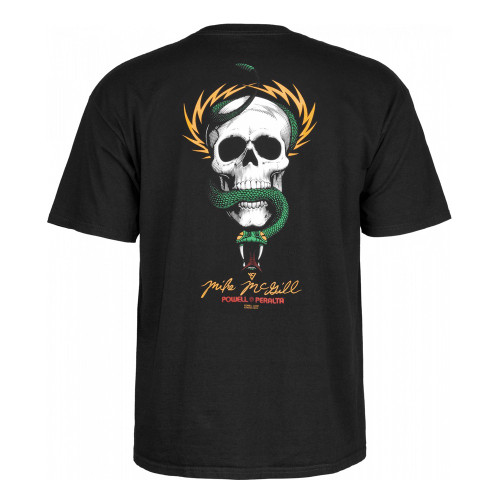 POWELL PERALTA McGill Skull And Snake Tee Black