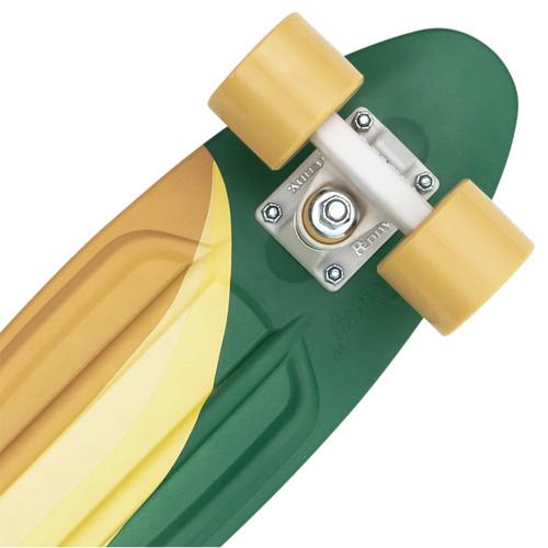 "PENNY Swirl Complete Cruiser Green 22"""