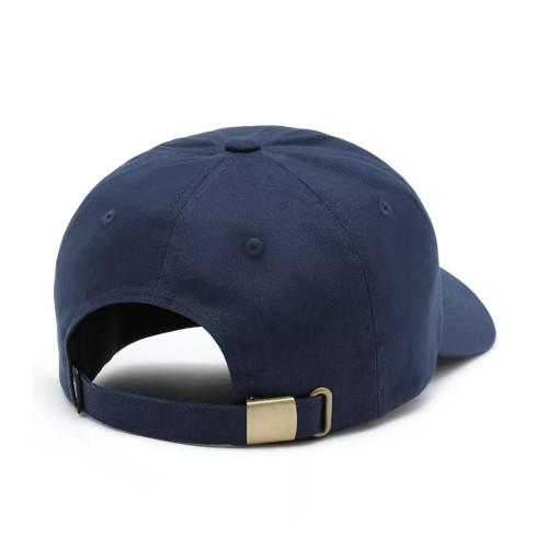 VANS Bodega Curbed Bill Jockey Strapback Hat Dress Blue