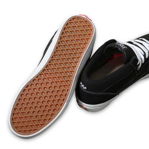 VANS Skate Half Cab Shoes Black/White