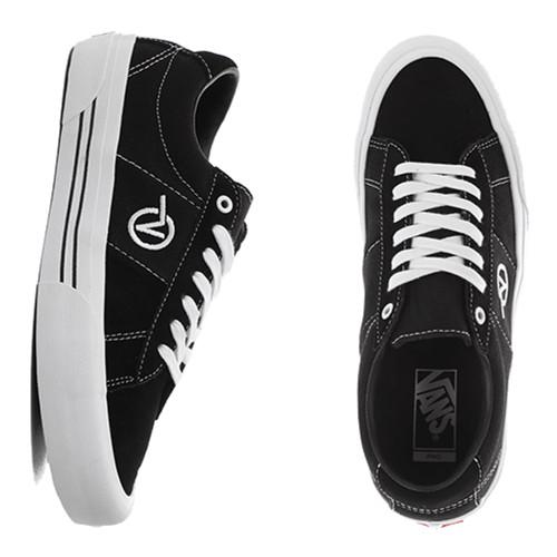 VANS Skate Sid Shoes Black/White