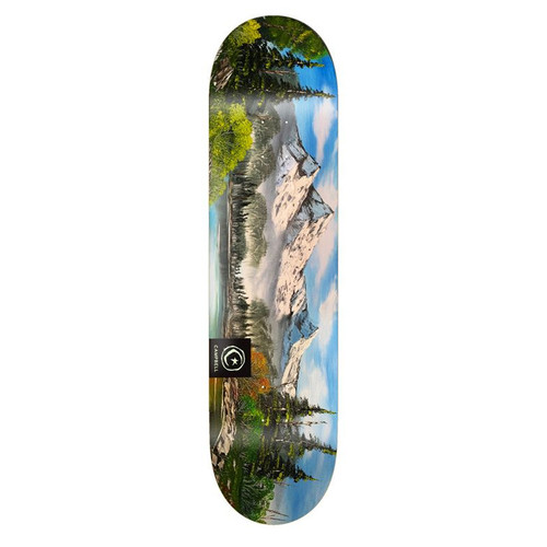 FOUNDATION Campbell Scapes Skateboard Deck 8.25