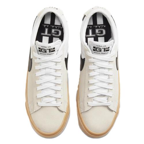 NIKE SB Zoom Blazer Low Pro GT Shoes White/Black-White-White