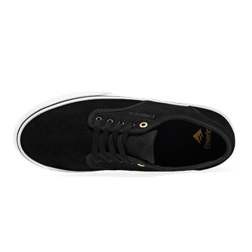 EMERICA Wino Standard Shoes Black/White/Gold