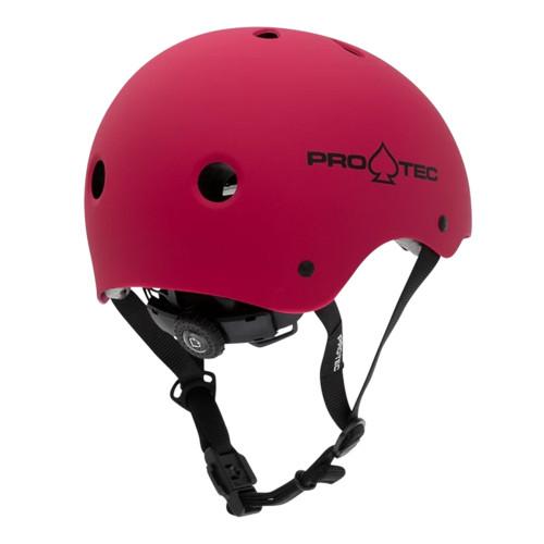 PRO TEC Classic Certified Helmet JR Matte Pink