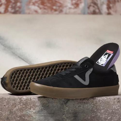 VANS Skate Sport Shoes Black/Gum
