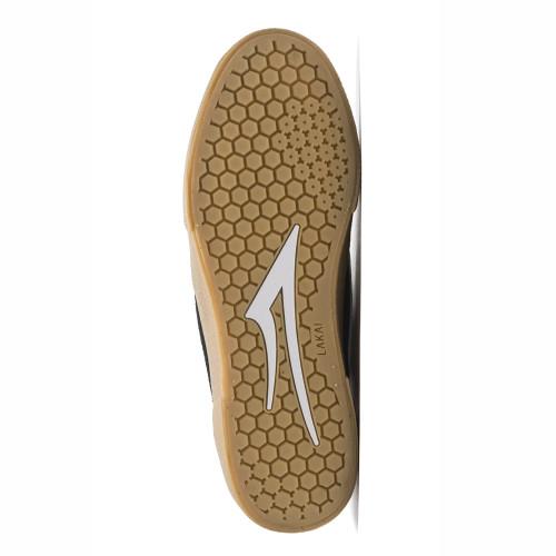 LAKAI Cambridge Shoes Black/Gum Suede