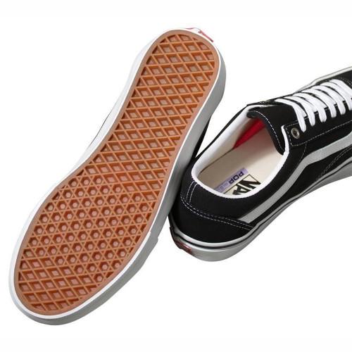 VANS Skate Old Skool Shoes Black/White