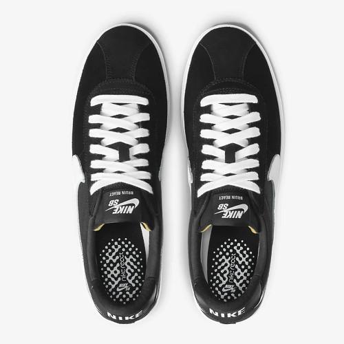 NIKE SB Zoom Bruin React Shoes Black/White-Black-Anthracite