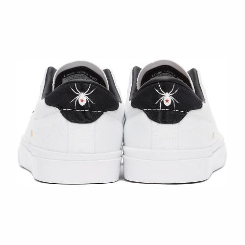 CONVERSE Louie Lopez Pro Ox Shoes White/Black/University Red (White Widow)