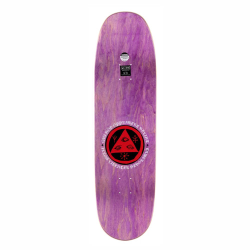 WELCOME Menagerie On Baculus 2 Purple Skateboard Deck 9.0