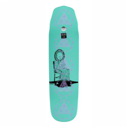 WELCOME Nora Soil On Wicked Queen Skateboard Deck 8.6