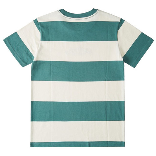 DC Downtown Stripe Youth Tee Blue Spruce