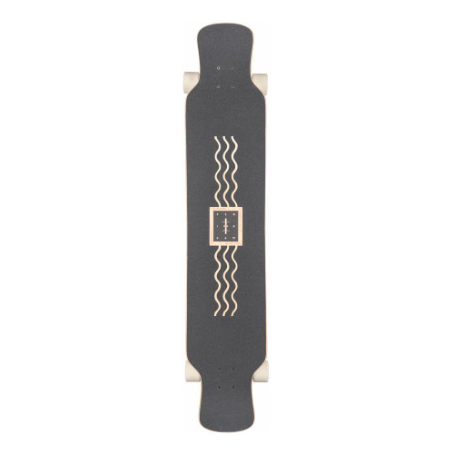 GLOBE Geminon XL Complete Longboard Spray Wave/Black Copp 47