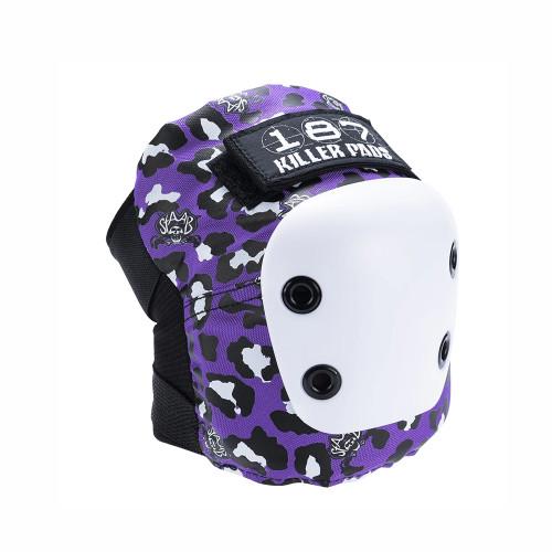 187 Junior Six Pack Pad Set Staab Neon Purple