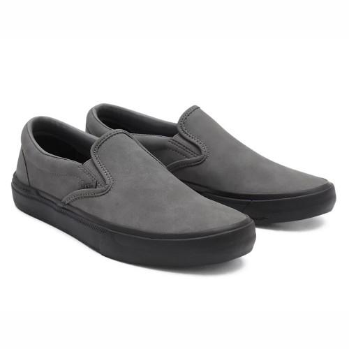 VANS BMX Slip-On Shoes Pewter/Black