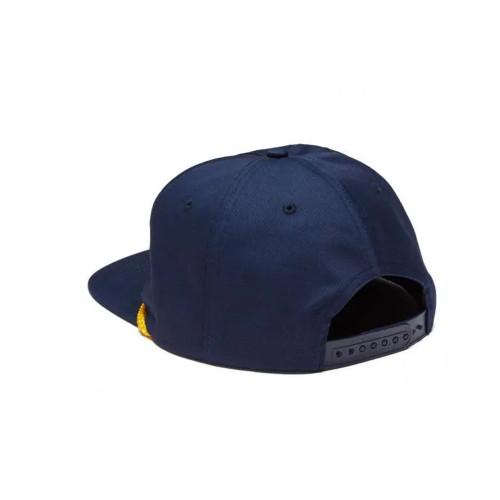 THRASHER Flame Rope Snapback Hat Navy